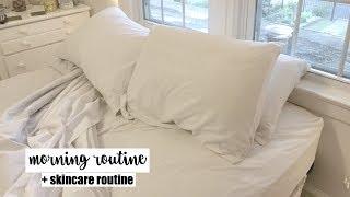 Morning Routine + Skincare | Maddie Cidlik