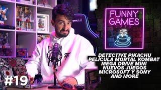 NUEVA PELÍCULA DE MORTAL KOMBAT y otras noticias de la semana   FUNNY GAMES CAFÉ #19