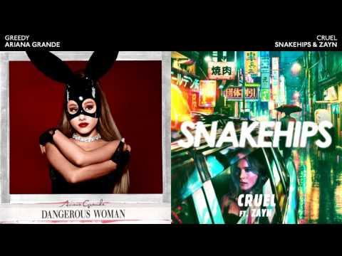 CRUEL & GREEDY - Ariana Grande / Snakehips / Zayn Mashup