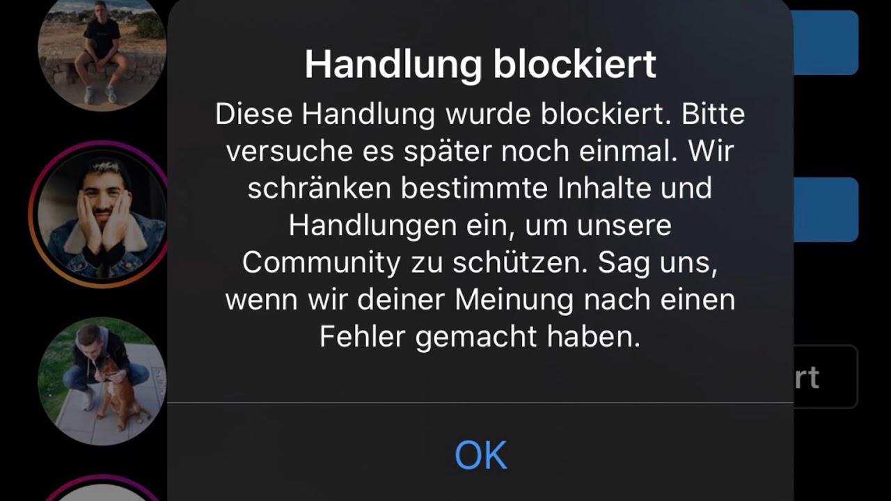 Instagram Blockiert