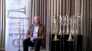 Prof. Carl Lenthe presents the B&S Meistersinger Trombones