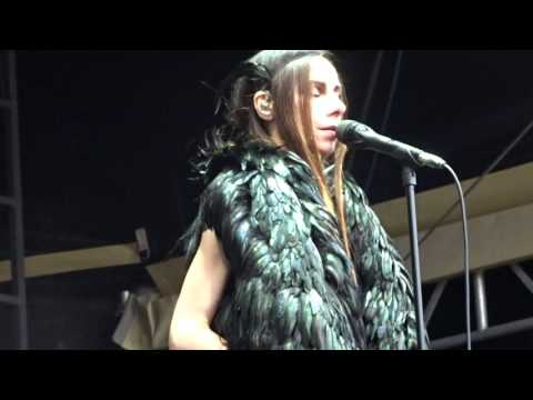 """When Under Ether"", PJ Harvey - Berlin, Juin 2016"