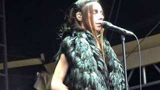 """When Under Ether"", PJ Harvey - Berlin, Juin 2016"