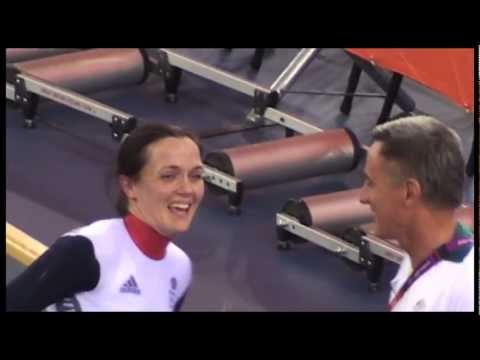 Victoria Pendleton - Sprint Silver Medal - London Olympic Velodrome - 7 August 2012