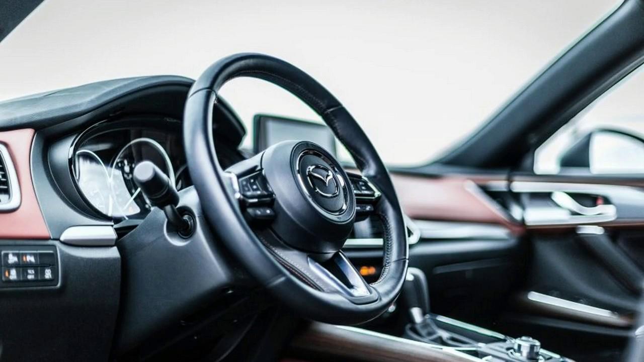 2017 mazda cx 9 interior sportscar youtube. Black Bedroom Furniture Sets. Home Design Ideas