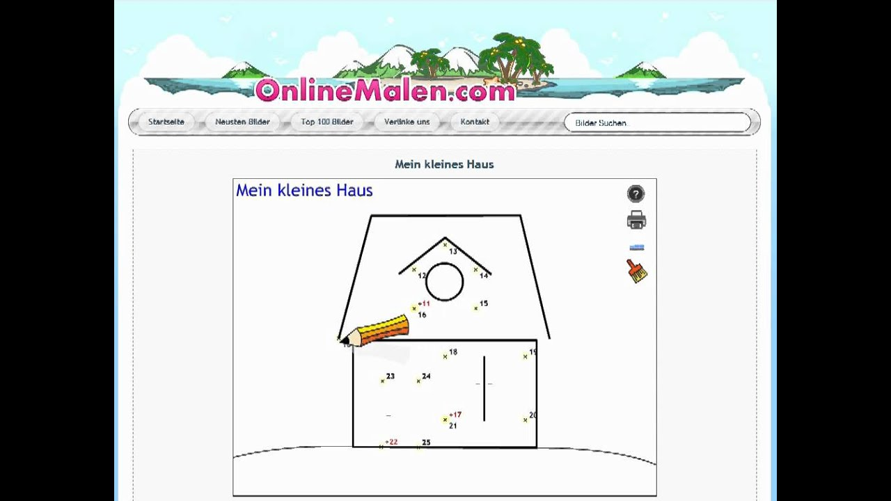 online malen nach zahlen