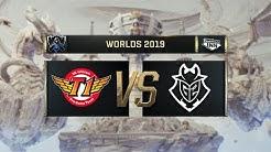SK Telecom T1 vs G2 Esports | Worlds Halbfinale [GER]
