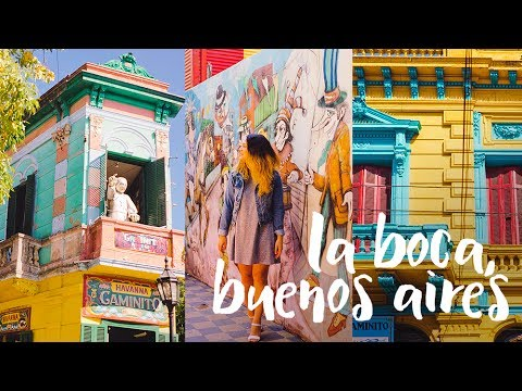 Most COLOURFUL Town in the World! La Boca, Argentina Vlog