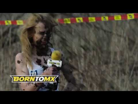 Andy Woods - Reporter Gets A Face Fulla Mud