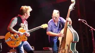 STRAY  CATS - Fishnet Stockings - 40th  ANNIVERSARY  TOUR -