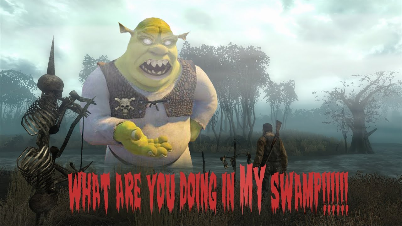 What Are You Doing In My Swamp