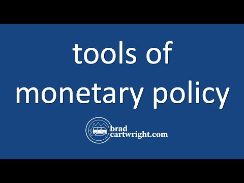 Monetary Policy Series:  Tools of Monetary Policy