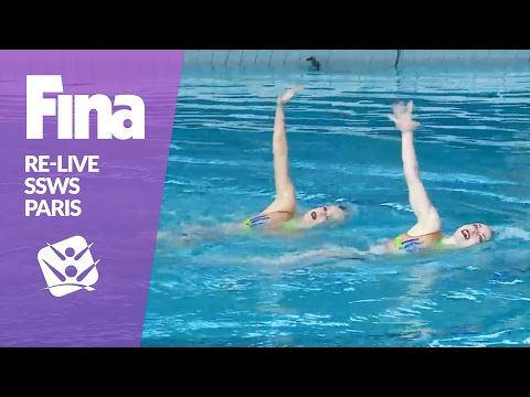 LIVE   Technical & Mixed Duet   FINA Synchronised Swimming World Series 2017 - Paris