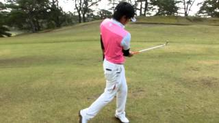 飛ばすゴルフ 体の軸を中心にコンパクトに鋭く回転する方法 thumbnail