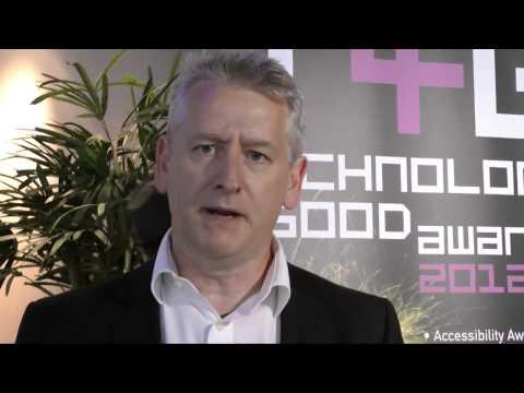 Steve Ball, CEO of Cloud 9, who sponsored a 2012 Tech4Good Award