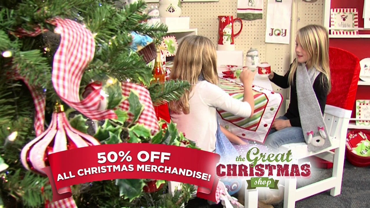 great christmas shop half off everything christmas - Candy Cane Christmas Shop