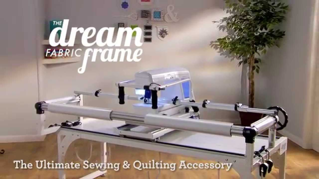 THE Dream Fabric Frame: Overiew - YouTube