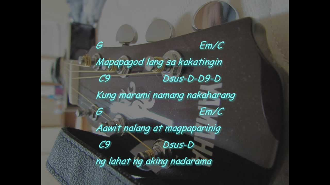 Gitara by Parokya ni Edgar (Guitar Pro+lyrics with chords+voice covers by Abs - YouTube