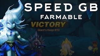 Giants B10 Speed Team - Farmable Beginner Speed Team