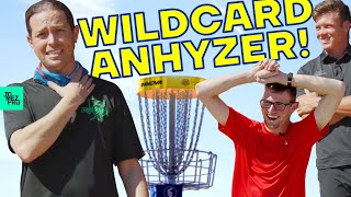 Disc Golf World Champion Challenges 2 Noobs to 9 Holes | DiscDice Challenge | Jomez