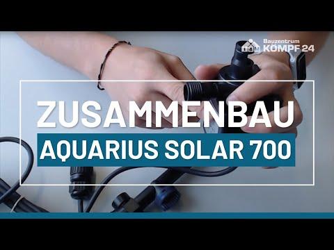 Zusammenbau Oase Aquarius Solar 700
