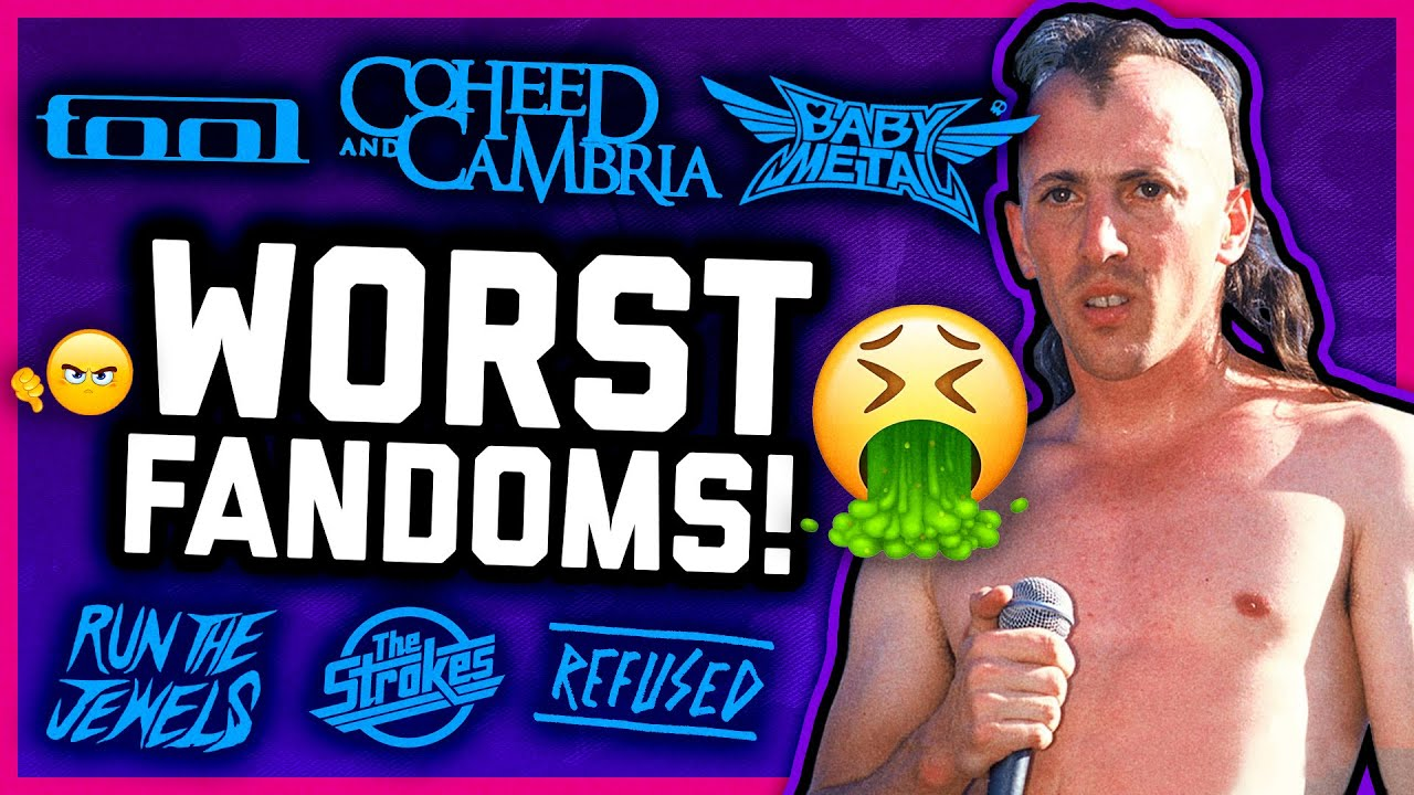 TOP 10 WORST FANDOMS IN ROCK & METAL (yuck!)