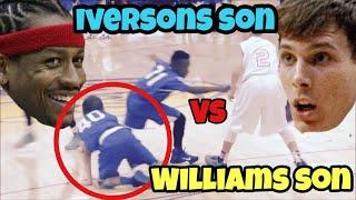 Allen Iversons SON VS Jason Williams SON 1v1!