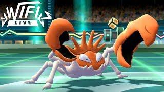 Pokemon Let's Go Pikachu & Eevee Wi-Fi Battle: Kingler Drops The Crabhammer! (1080p)