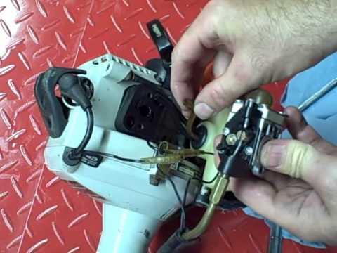 Small Engine Repair: Rebuilding a Diaphragm Carburetor on a Echo SRM-230 Trimmer Part 3 of 3