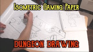 Drawing a Dungeon on Isometric Gaming Paper