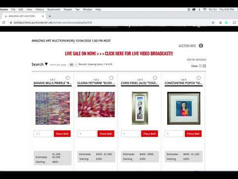 Ozbid Auctions A Full Service Live And Online Auction House In Australia