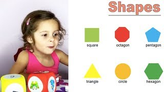 ⭐ Name the Shape Game. Free Shapes Learning Printables