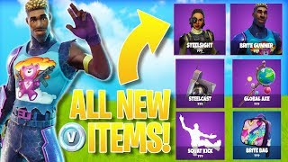 'ALL NEW'FORTNITE SKINS/ITEMS! - Fortnite SECRET COSMETICS MISE À JOUR! (Fuite)