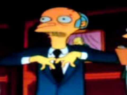 Marge y Burns (no_lei_el_protocolo T! )