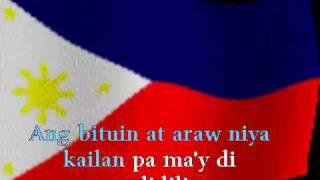 Karaoke - Lupang Hinirang - Philippine National Anthem