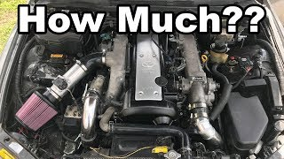 How Much Did My IS300 1JZ Swap Cost Me??? (Parts List & Cost)