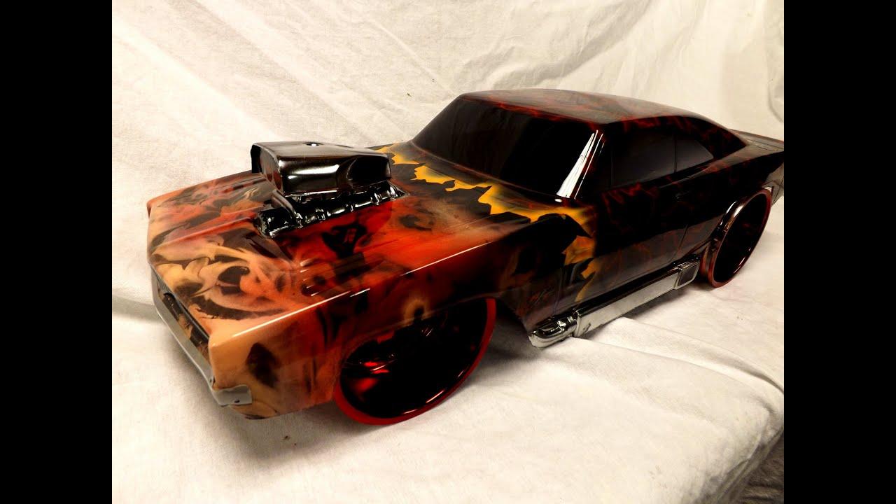 Custom Rc Truck Bodies Painted