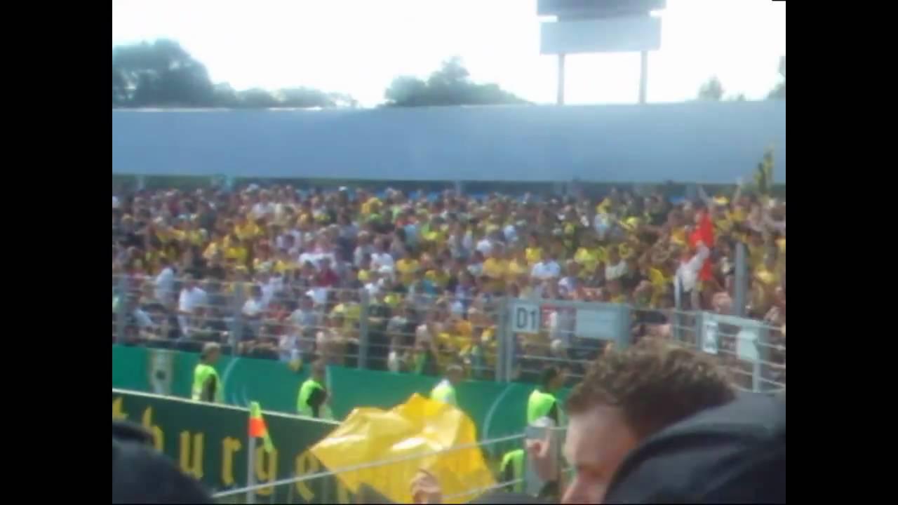 SpVgg Weiden 1:3 Borussia Dortmund (1. Runde DFB Pokal)