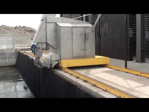 New Hydro Component Systems Trash Rake at Chester Dam