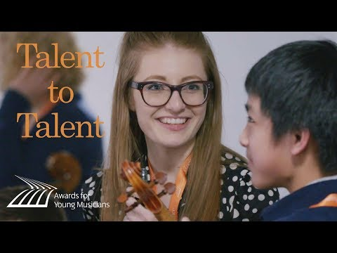 Talent to Talent: young musician mentoring