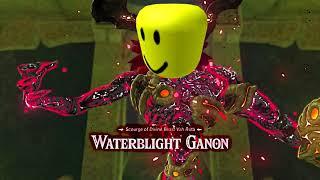 Zelda Breath of the Wild Waterblight Ganon Roblox Death Sound Remix