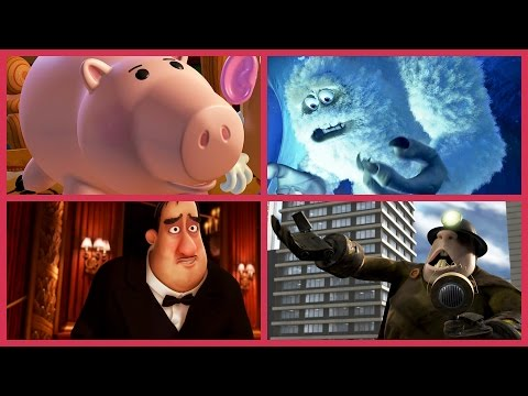 Pixar Secrets  John Ratzenberger In Every Disney•Pixar Film  Oh My Disney