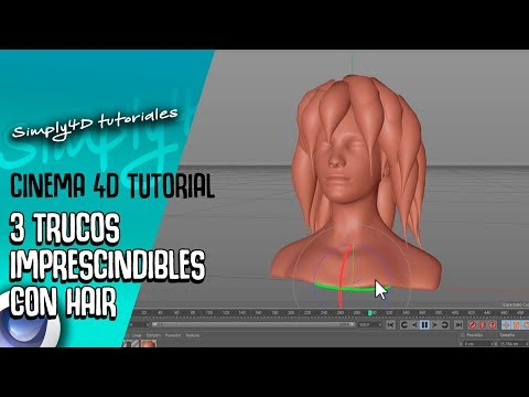 3 TRUCOS IMPRESCINDIBLES CON HAIR EN CINEMA 4D