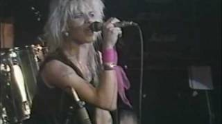 """HANOI ROCKS """"Beer and a Cigarette"""" Live at The Marquee 1983 http://..."""