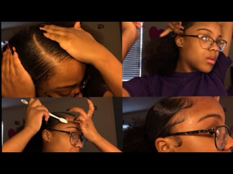 QUICK & EASY SLICK BACK PUFF | #NATURALHAIR