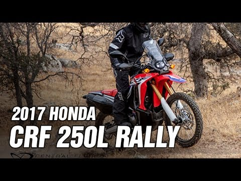 Honda CRFL Rally Spec