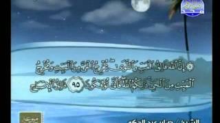 ختمة الأحزاب   الشيخ صابر عبد الحكم - الحزب [ 14 ] ( 2 / 2 )