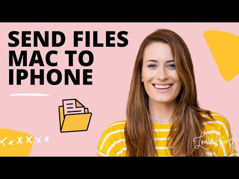 How To Send Files from Mac to Iphone
