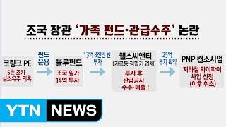 조국 5촌 조카 체포...사모펀드 수사 급물살 / YTN