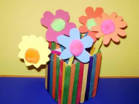 Como hacer flores de goma eva - YouTube